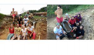 Descoperire Dinozauri - Studenti Universitatea Bucuresti