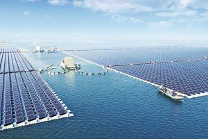 Cea mai mare centrala solara pe apa in China