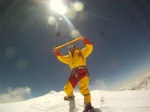 Horia Colibasanu pe Everest