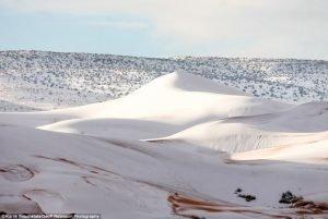 Zapada in Algeria, in desertul Sahara
