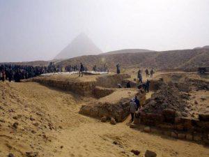 Morminte la Giza, Egipt