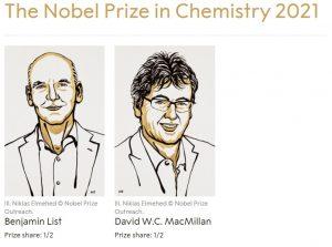Premiul Nobel Chimie 2021