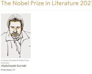 Premiul Nobel pentru Literatura 2021