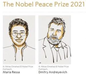 Premiul Nobel pentru Pace 2021